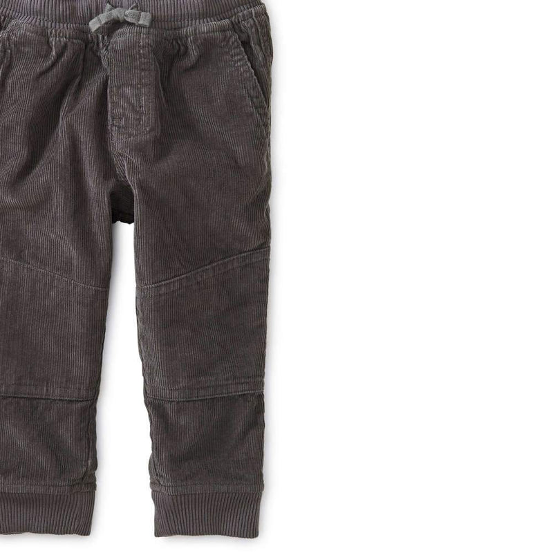 Tea Collection Corduroy Easy Baby Pants Thunder - Tadpole