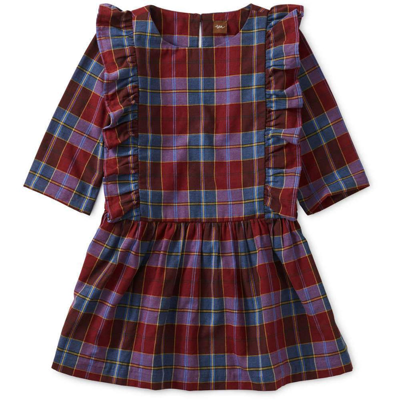 Tea Collection Family Plaid Ruffle Dress - Tadpole