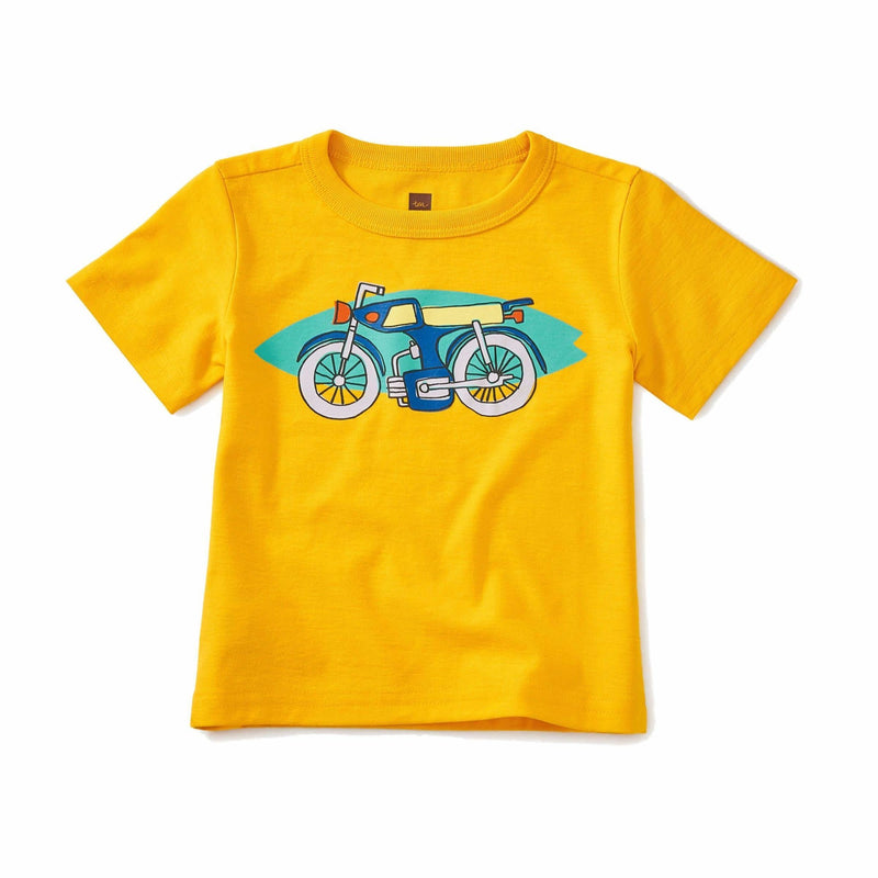Tea Collection On Board Baby Graphic Tee - Tadpole