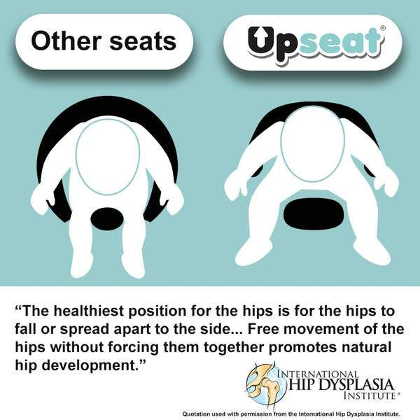 The Upseat Floor And Booster Baby Seat - Tadpole
