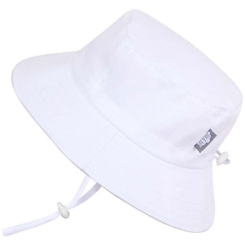 Twinklebelle Grow-With-Me Bucket Hat White - Tadpole