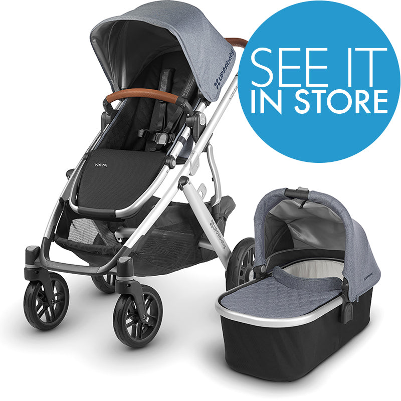 UppaBaby Vista Stroller 2019 (IN STORE PU OR MA DELIVERY ONLY ON SALE ITEMS)
