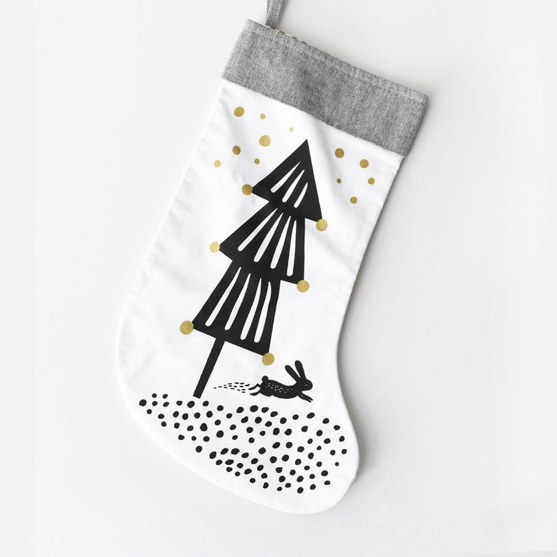 Wee Gallery Winter Stocking - Tadpole
