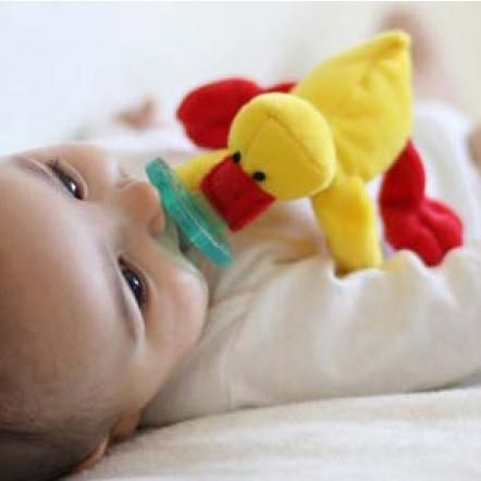 Wubbanub Pacifier Yellow Duck - Tadpole