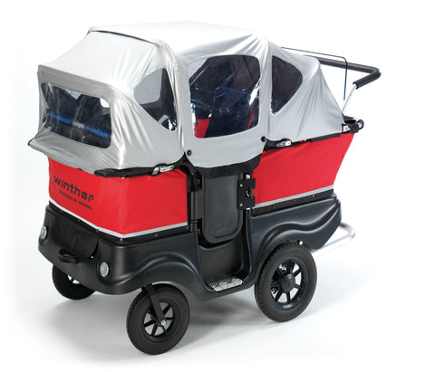 Winther Turtle Kinderbus de Luxe für 4 Kinder, 8900800