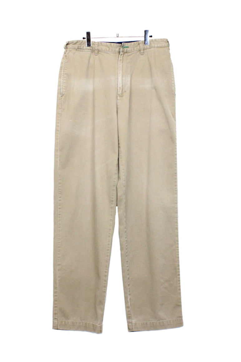 90'S CHINO PANTS / BEIGE【SIZE:W33L34 USED】【金沢店】
