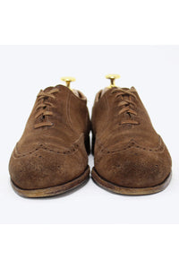 SUEDE WINGTIP SHOES / BROWN [SIZE: US7D(25cm) USED][金沢店]