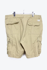 RIP STOP COTTON CARGO SHORTS / BEIGE [SIZE: 36 USED][金沢店]