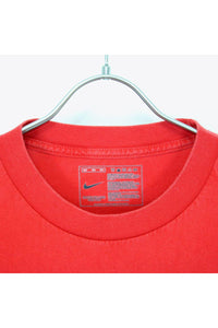 LOGO STAR T-SHIRT / RED [SIZE:L USED] [金沢店]