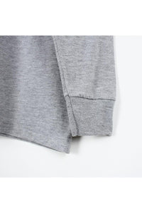 L/S MOCK NECK T-SHIRT / GRAY [SIZE:S USED] [金沢店]