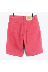 MADE IN USA 90'S 550 DENIM SHORTS / RED [SIZE: 30 USED][金沢店]