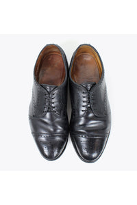 LEXINGTON STRAIGHT-TIP LEATHER / BLACK [SIZE: US8.5E(26.5cm) USED][金沢店]