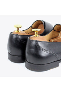 MADE IN ITALY MONK STRAP SHOES / BLACK [SIZE: US8.5D(26.5cm) USED][金沢店]