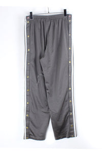 90'S SIDE SNAP THREE LINE TRACK PANTS / GRAY【SIZE:S USED】【金沢店】