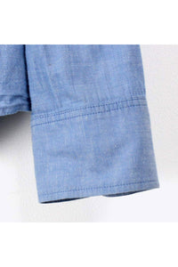 L/S CHAMBRAY SHIRT / BLUE [SIZE: M USED][金沢店]