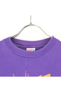 MADE IN USA 90'S SUNS FEVER T-SHIRT / PURPLE [SIZE:L USED] [小松店]