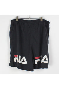 90'S NYLON SHORTS / BLACK [SIZE: XL USED][金沢店]
