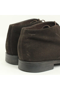 MADE IN ITALY SUEDE CHUKKA BOOTS / BROWN [SIZE: US9D(27cm相当) USED][金沢店]