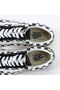 OLD SKOOL CHECKER FLAG / BLACK WHITE [SIZE: US8(26cm) USED][小松店]