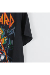 MADE IN USA 88'S DEF LEPPARD T-SHIRT / BLACK [SIZE:XL USED] [金沢店]