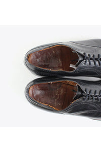 MADE IN ENGLAND STRAIGHT TIP LEATHER SHOES / BLACK [SIZE: US9D(27cm相当) USED][金沢店]