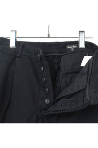 MADE IN USA WOOL PANTS / BLACK [SIZE:XS USED][金沢店]