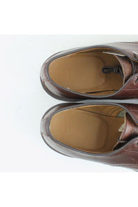 3HOLE LEATER SHOES / BROWN [SIZE: US9(27cm相当) USED][金沢店]