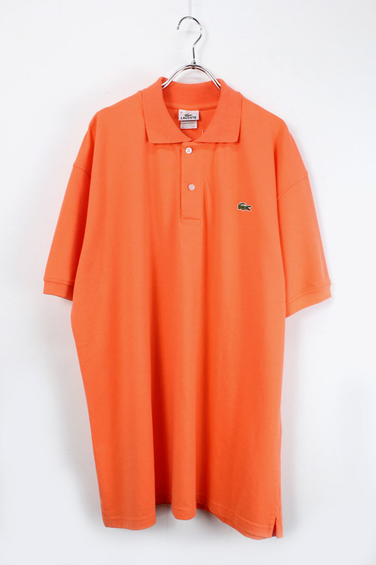 MADE IN FRANCE S/S POLO SHIRT / ORANGE【SIZE:8 USED】【金沢店】
