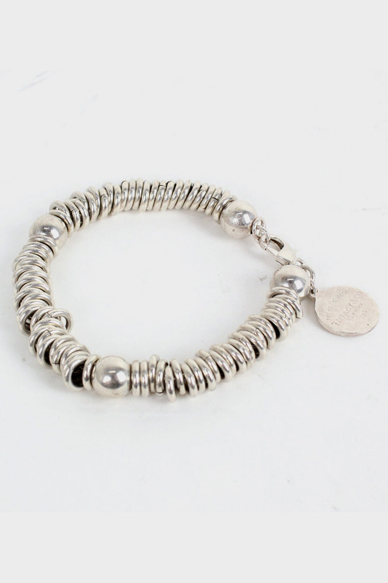 SILVER BRACELET(MANY RING) [SIZE:ONE SIZE USED][金沢店]