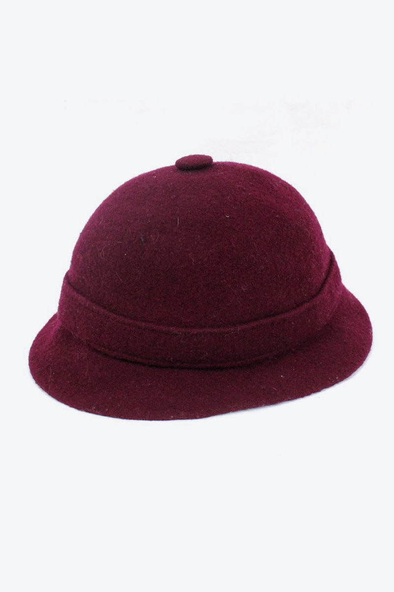 WOOL GROUSER HAT / WINE RED [SIZE: O/S USED][金沢店]