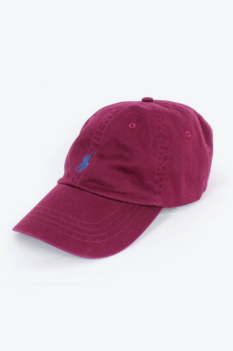 ONE POINT LOGO CAP / BURGUNDY [SIZE: O/S NEW][金沢店]