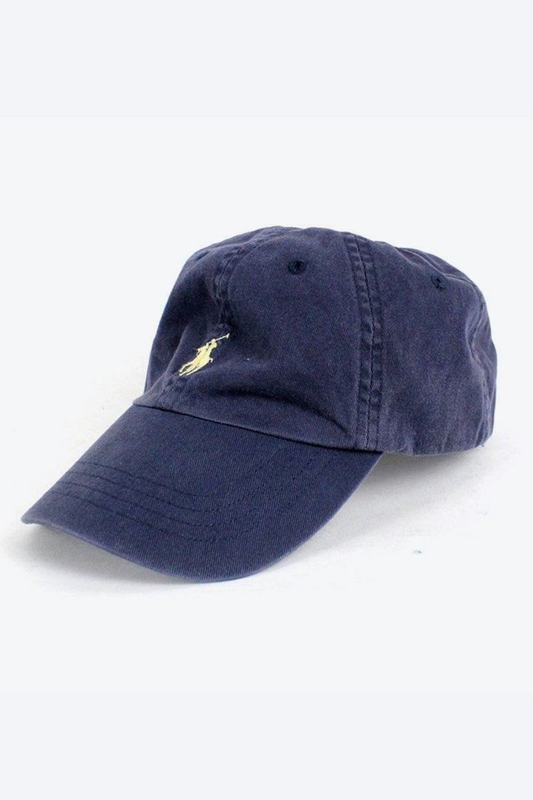 90'S ONE POINT LOGO CAP / NAVY [SIZE: O/S USED][金沢店]