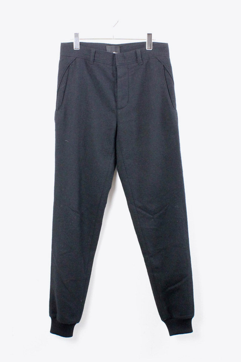 WOOL EASY PANTS / BLACK [SIZE:28 USED][金沢店]