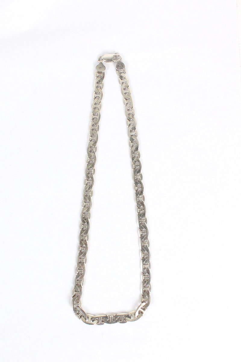 MADE IN ITALY 925 SILVER NECKLACE【SIZE:O/S USED】【金沢店】