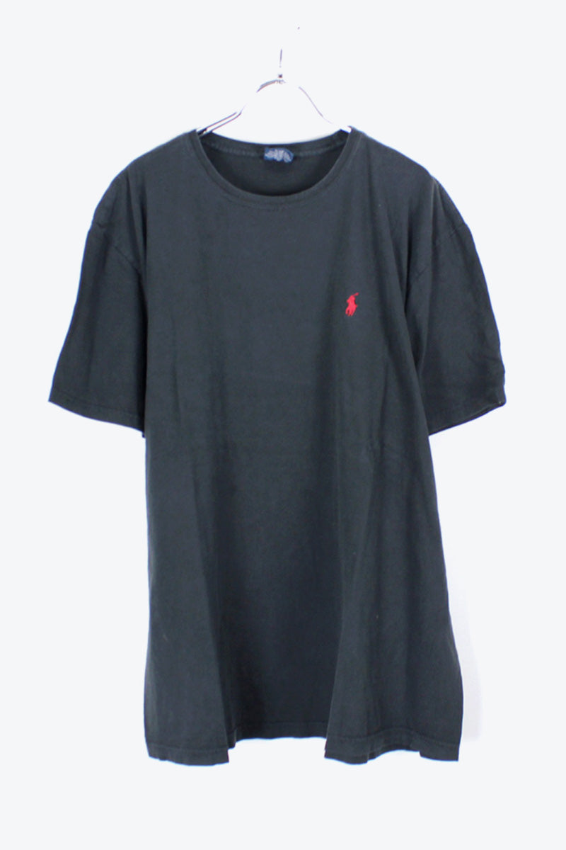 90'S S/S ONE POINT T-SHIRT / BLACK [SIZE:L USED] [金沢店]