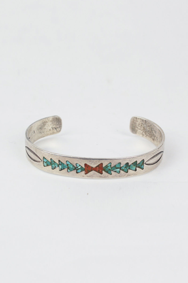 SILVER NAVAJO BANGLE [SIZE:ONE SIZE USED][金沢店]