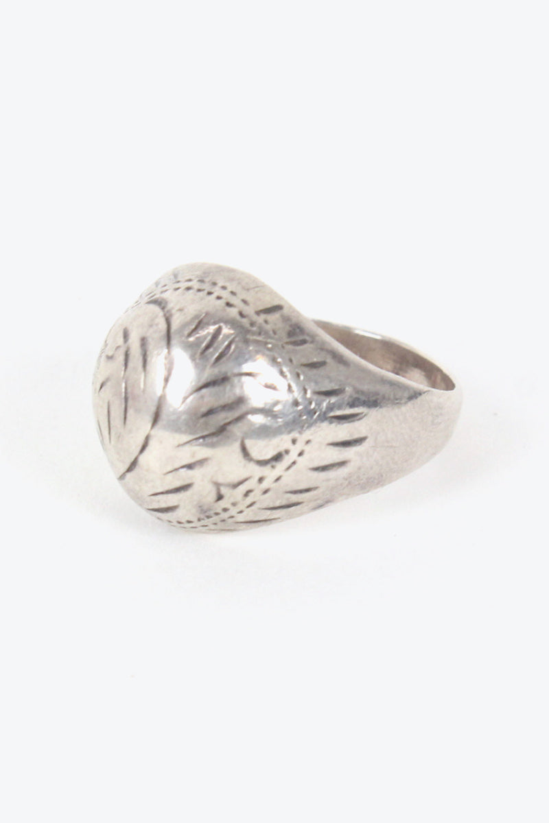 925 SILVER RING 【SIZE: 18号相当 USED】【金沢店】