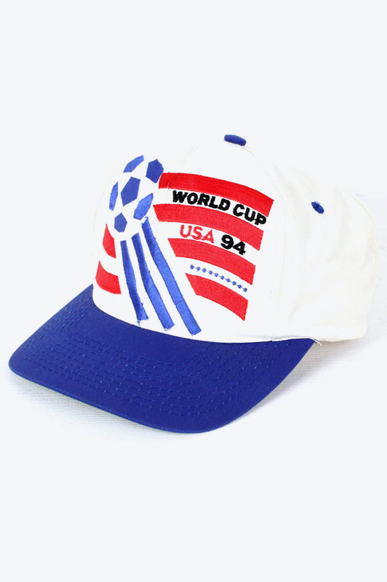 94'S WORLD CUP USA CAP / BLUE WHITE [SIZE: O/S USED][金沢店]