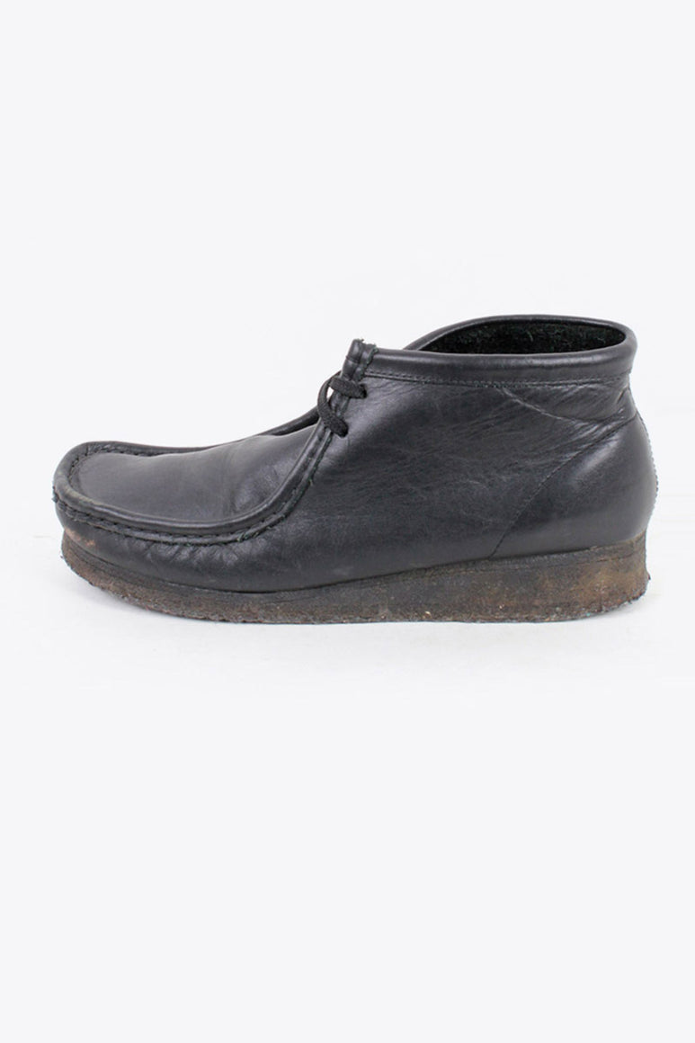 WALLABY BOOTS / BLACK [SIZE: US10(28cm相当) USED]