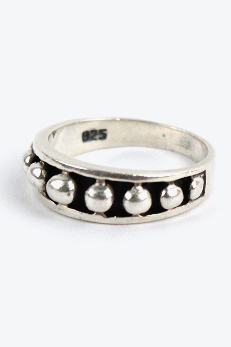 MADE IN MEXICO 925 SILVER RING [SIZE: 12号相当 USED][金沢店]