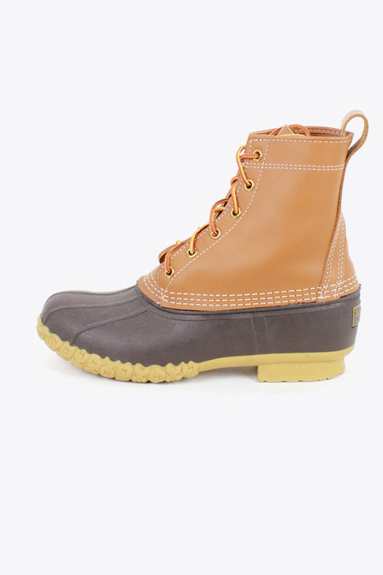 MADE IN USA RUBBER BEAN BOOTS / TAN [SIZE: US8M(26cm相当) USED]