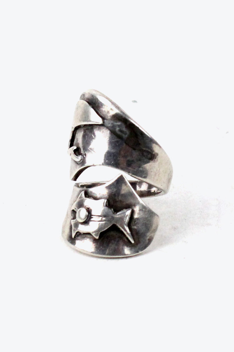 MADE IN PERU SILVER 925 RING [SIZE:12号相当 USED][金沢店]