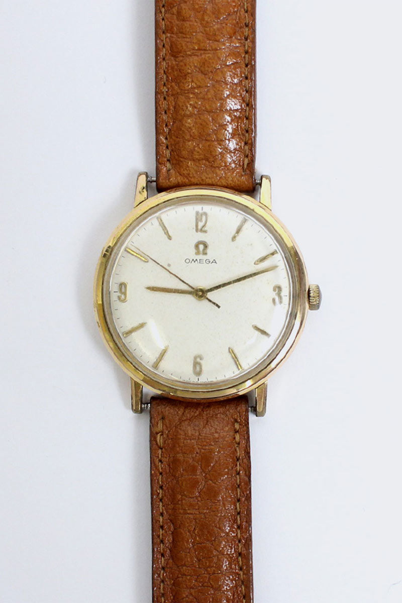 WRIST WATCH (HAND-ROLLED) / GOLD BROWN【SIZE:O/S USED】【金沢店】