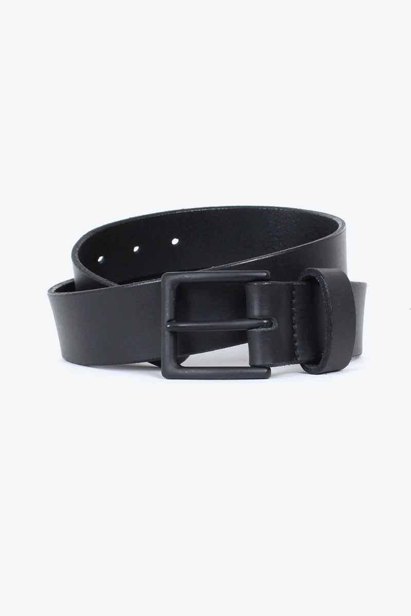 MADE IN USA 38MM MT BK BOX CANYON LEATHER BELT / BLACK BUCKLE【金沢店】【小松店】