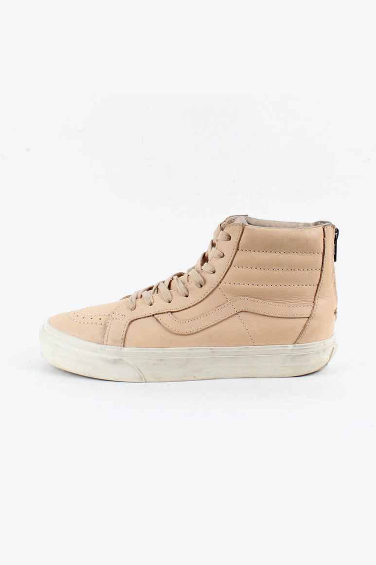 SK8-HI LEATHER USA企画品 / NATURAL [SIZE: US8(26cm) USED][金沢店]