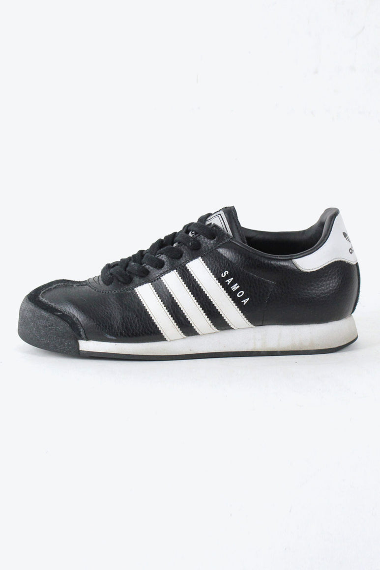 SAMOA LEATHER SNEAKERS / BLACK [SIZE: US7.5(25.5cm) USED][金沢店]