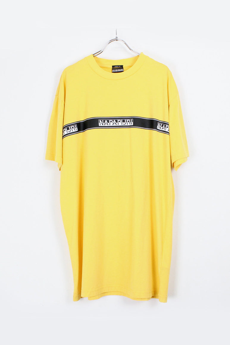 TRIBE SAGER TAPED TEE / YELLOW [SIZE: L NEW][金沢店]