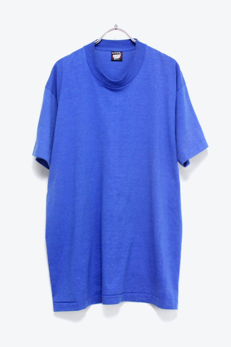 MADE IN USA PLAIN T-SHIRT / BULE [SIZE:M相当 USED] [金沢店]