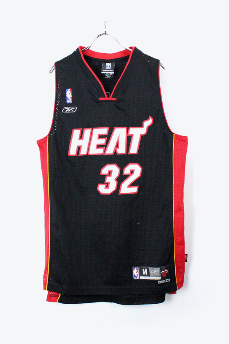 90'S HEAT GAME SHIRT / BLACK/RED [SIZE:M USED] [金沢店]