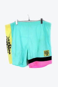 80'S NYLON SWIM SHORTS / LIGHT GREEN [SIZE: L USED][金沢店]